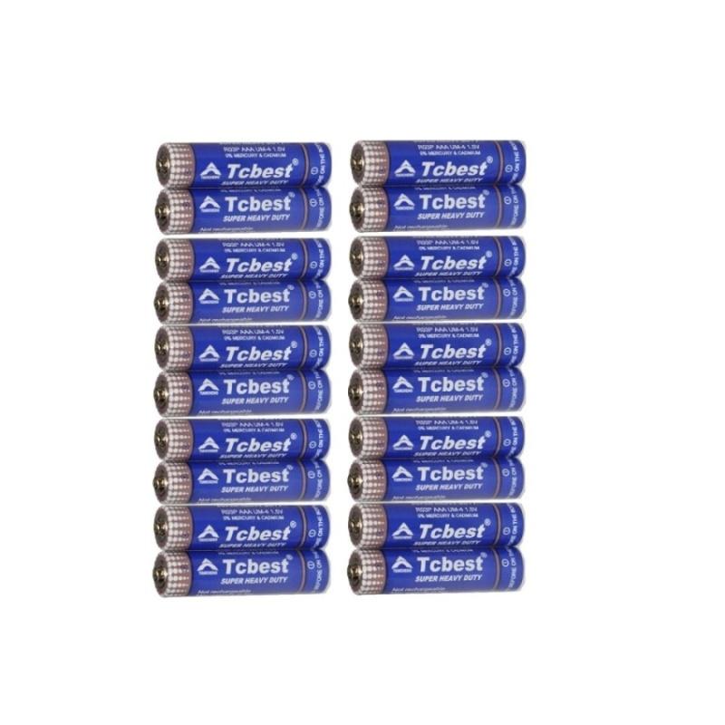 20 pin đũa Tcbest cacbon AAA