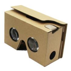 Hình ảnh 2015 Cho Google Cardboard V2 3D Kính VR Valencia Max Phù Hợp Với Điện Thoại 6 Inch (Đen) (Quốc Tế)