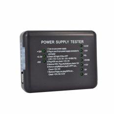 20/24 Pin PSU ATX SATA HDD Power Supply Tester Checker Meter LED Diagnostic Tool Testing PC Computer 12V 5V 3.3V - intl