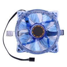 Hình ảnh 25 LED CPU Quạt Làm Mát Máy Tính Làm Mát Thay Thế cho Intel AMD (Xanh Dương)- quốc tế