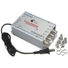 Hình ảnh 2 cái ĐƯỜNG SEEBEST 220 v 4 CATV TRUYỀN HÌNH Cáp VCR Anten Khuếch Đại Tín Hiệu Tăng Áp Bộ Chia-quốc tế