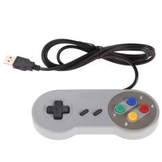Mua 2X Super Nintendo Snes Usb Cổ Điển Famicom Bộ Điều Khiển Cho May Tinh Mac Games Quốc Tế Rẻ