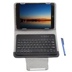 """Hình ảnh Bàn phím Bluetooth 3 trọng 1 Có vỏ bảo vệ dành cho Máy tính bảng iOS/Android/Windows 7 """"/8"""" (Đen) -Quốc Tế"""