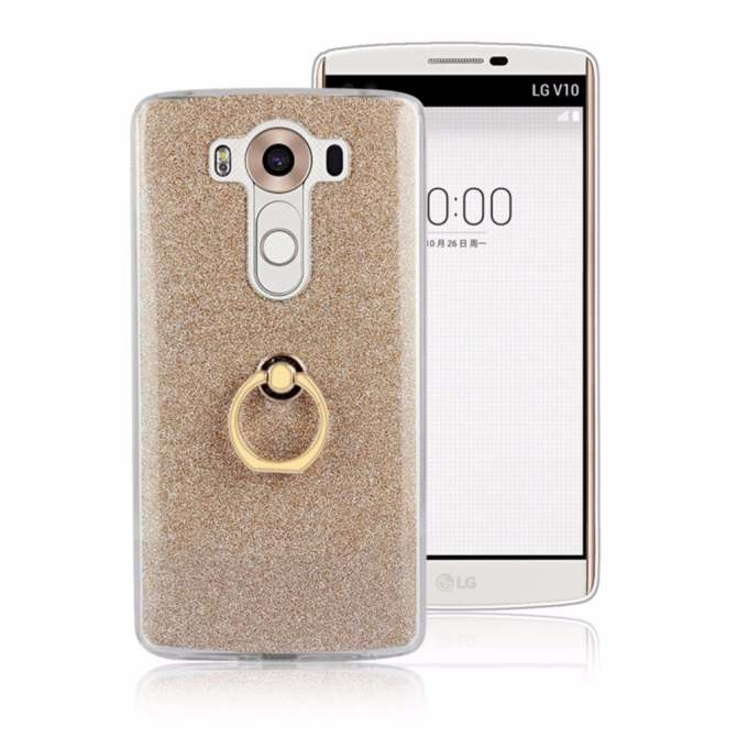 3-in-1 Multifunction Metal Buckle Ring TPU Phone Cover Case .