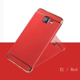 3 In 1 Pc Protective Back Cover For Sam Sung Galaxy A5 2016 A510 Red Intl Nguyên