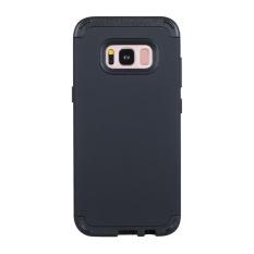 Mua 3 Trong 1 Mềm Tặng May Tinh Lai Chống Sốc Lưng Ốp Lưng Chống Trơn Trượt Bảo Vệ Toan Than Dung Cho Samsung Galaxy S8 Plus Đen Quốc Tế