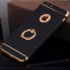 VND 191.700 3 In 1 Ultra Slim Metal Hybrid Anti-skidding Hard Back Case Cover With Ring Kickstand For Applefor Iphone ...