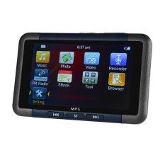 Hình ảnh 3.0 Máy MP4 MP3 MP5 Màn Hình Tráng Gương With Thẻ TF FM, 8 gb (Đen + Xanh Dương)-Quốc Tế