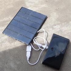 3.5 wát 6 v USB2.0 Gấp Năng Lượng Mặt Trời Sạc Bên Ngoài Công Suất Bảng Điều Khiển Dành Cho Điện Thoại Di Động-quốc tế