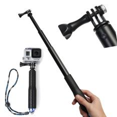 36 inch SP POV pole Gậy Selfie Dành Cho gopro Monopod tripod sj 4000-Đen-quốc tế