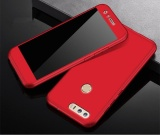 Mua 360 Full Body Coverage Protection Hard Slim Ultra Thin Hybrid Case Cover Skin With Tempered Glass Screen Protector For Huawei Honor 8 Red Intl Trực Tuyến