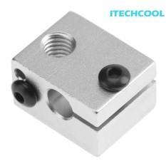 Hình ảnh 3D Printer Extruder All-metal Oxide Blasting E3D V6 Heating Aluminum Block - intl