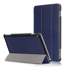 3Folio Smart Stand Leather Flip Cover Case for Huawei MediaPad M3 Lite 10 10.1inch - intl