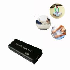 Hình ảnh 3G/4G WiFi Wlan Hotspot AP Client 150Mbps RJ45 USB Wireless Router Black - Intl