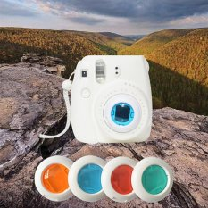 Giá Cực Tốt Khi Mua 4 Colorful Filters Magic Lens For Fujifilm Instax Mini 8 /7s/ Kitty Cameras - Intl