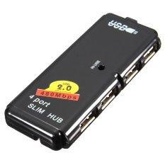Hình ảnh 4 cổng USB 2.0 Tốc Độ Cao Hợp đầu Sạc Đồng Bộ Dữ Liệu dành cho MÁY TÍNH Xách Tay MÁY TÍNH Xách Tay-Quốc Tế