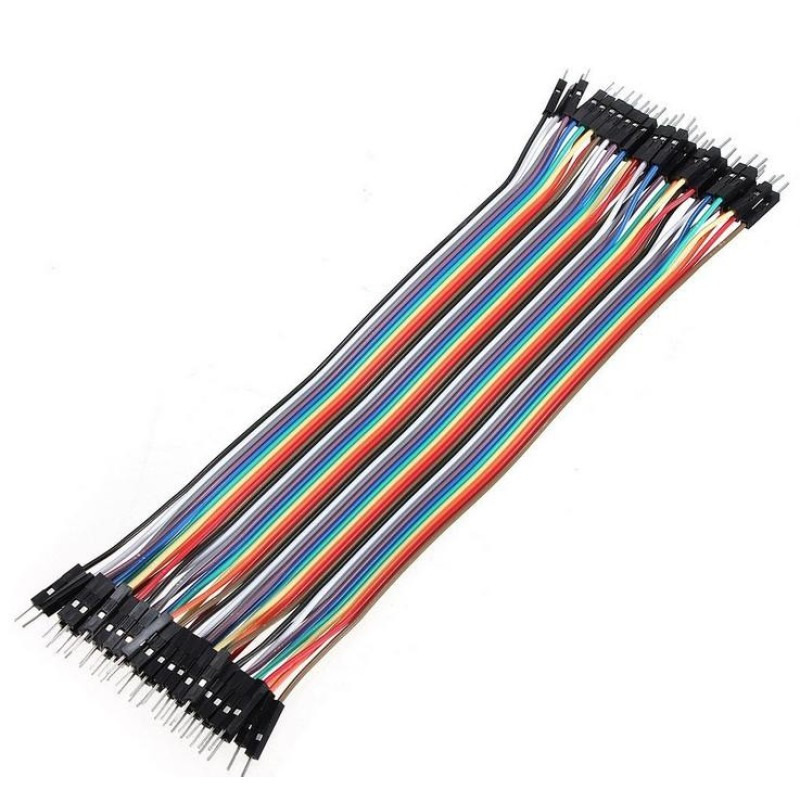 Bảng giá 40pcs 20cm 2.54mm male to male Breadboard jumper wire cable for Arduino - intl Phong Vũ