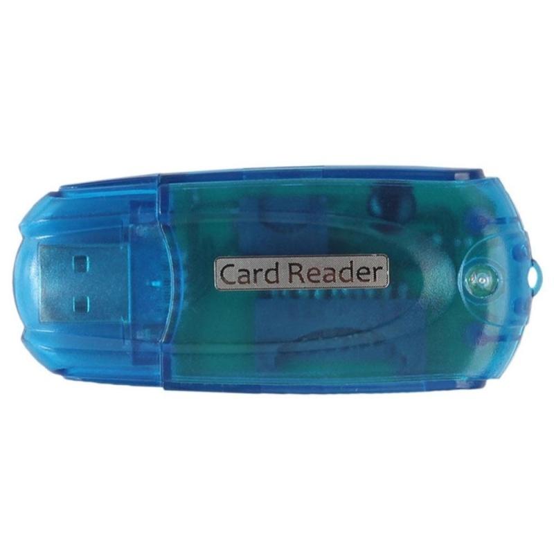 Bảng giá 5 trong 1 Đầu Đọc Thẻ Nhớ Đa Năng Đầu Đọc Thẻ Micro SD (TF) SD M2 XD MS (Xanh Dương)-quốc tế Phong Vũ