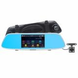 Bán 5 Inch Touch Screen Car Dvrs Fhd 1080P Dual Lens Car Camera Super Night Vision Review Mirror Video Recorder Car Dvrs Detector Dash Camera Intl Rẻ