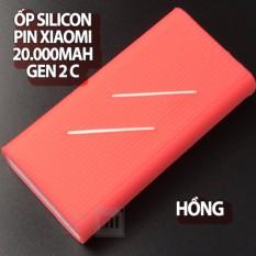 (5 màu) Ốp silicon dành cho Pin Xiaomi 20000mAh Gen 2C (Không kèm pin sạc)
