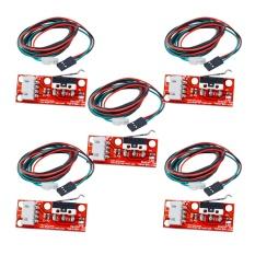 Hình ảnh 5 túi Cơ Endstop Công Tắc với Dây Cáp cho 3D Máy In Makerbot Prusa Mendel RepRap CNC Arduino Mega 2560 1280- quốc tế