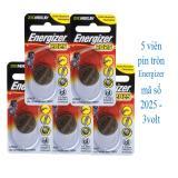 5 viên Pin tròn Energizer 2025 - 3 volt