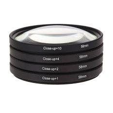 Giá Bán Bộ Kinh Lọc Chụp Xa Gần 58Mm 1 2 4 10 Cho Canon Eos 650Dn600D 18 Intl Nguyên