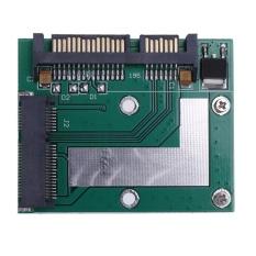 Mua 5Cm Half Height Msata Mini Pci E Ssd To 2 5In Sata3 Converter Adapter Card Green Intl Trực Tuyến