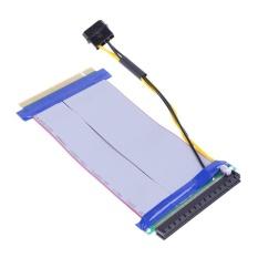 6X để 16X Điện PCI-E Riser Nối Dài PCI Express Adapter Card-quốc tế