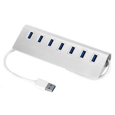 Hình ảnh 7 cổng Tốc Độ Cao USB 3.0 Adapter Sạc có Đèn led cho MÁY TÍNH Xách Tay Máy Tính Xách Tay