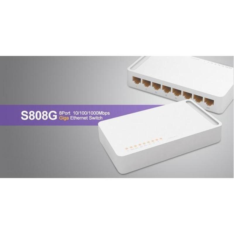 Bảng giá 8 ports 10/100/1000Mbps Switch TOTOLINK S808G Phong Vũ