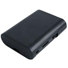 Hình ảnh ABS Hộp Bảo Vệ cho Rapsberry Pi 2 3 Mẫu B (Đen)