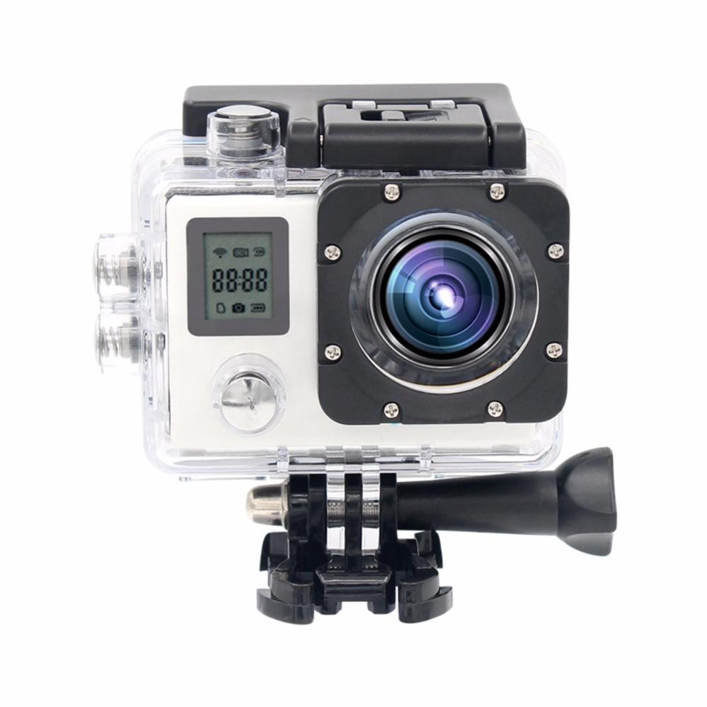 Action Camera Ultra Hd 4K 30Fps 1080P Remote Wifi 30M Waterproof Camera 2.0Lcd Double Screen Mini Sport Camera Dv