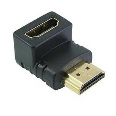 Hình ảnh Adapter HDMI chuyển góc vuông XZT45 (đen)