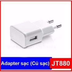 Adapter sạc (củ sạc) JT880 cho điện thoại, máy tính bảng (chui tròn)