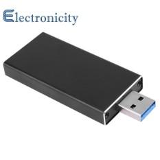 Hình ảnh Hợp Kim nhôm 3.0 sang M.2 SSD USB3.0 để NGFF B KEY HDD Di Động - quốc tế