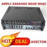 Bán Ampli Karaoke Amply Nghe Nhạc Avector Pa 5200 Giảm Gia Cực Rẻ Avector