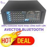 Giá Bán Ampli Karaoke Amply Nghe Nhạc Gia Đinh Bluetooth Avector 4000Bl Karaoke Cực Hay