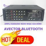 Mua Ampli Karaoke Amply Nghe Nhạc Gia Đinh Bluetooth Avector 8000 Karaoke Cực Hay Mới