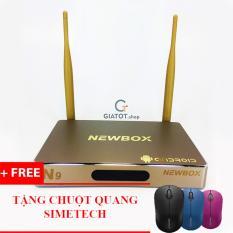Cửa Hàng Androi Tv Box Newbox N9 Ram 2G Tặng Kem Chuột Quang Simetech Biến Tivi Thường Thanh Smart Tivi Oem Hà Nội