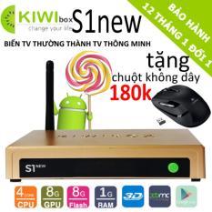 Android Box Kiwi S1 New 2018 Tặng Chuột Quang 180K Thái Nguyên Chiết Khấu 50