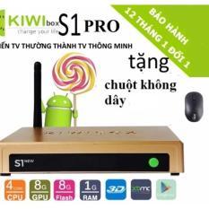 Mua Android Box Kiwi S1 New 2017 Tặng Chuột Wifi Kiwibox Nguyên