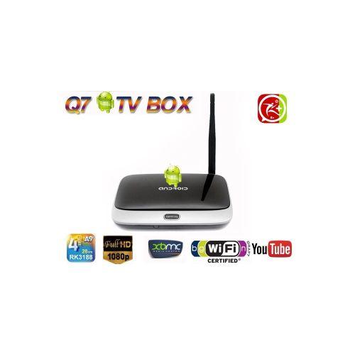 Android Box Q7 Quad Core 1 4Ghz, RAM 2GB, ROM 8GB - Đầu phát Media