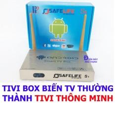 Android Smart Tv Box Safelife S1 Cao Cấp Biến Tv Thường Thanh Tivi Thong Minh Chiết Khấu An Giang