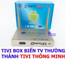Bán Android Smart Tv Box Safelife S1 Cao Cấp Biến Tv Thường Thanh Tivi Thong Minh Trong An Giang