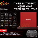 Android Tivi Box Chinh Hang T95U Mạnh Nhất Thị Trường Rom 16G Ram 2G Kết Nối Am Thanh Bluetooth Tặng Chuột Ban Phim Chiết Khấu Hồ Chí Minh