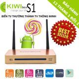 Chiết Khấu Android Tivi Box Kiwi S1 4K Ultra Hd Ram 1Gb Tv Box