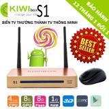 Mua Android Tivi Box Kiwi S1 4K Ultra Hd Ram 1Gb Tặng Kem Chuột Khong Day Cao Cấp Forter V181 Vietnam
