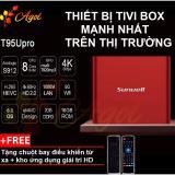 Mua Android Tivi Box Mạnh Nhất Thị Trường Chinh Hang T95U Rom 16G Ram 2G Kết Nối Am Thanh Bluetooth Tặng Chuột Bay Điều Khiển Từ Xa Mới