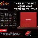 Mua Android Tivi Box Mạnh Nhất Thị Trường Chinh Hang T95U Rom 16G Ram 2G Kết Nối Am Thanh Bluetooth Tặng Chuột Khong Day Agol Trực Tuyến